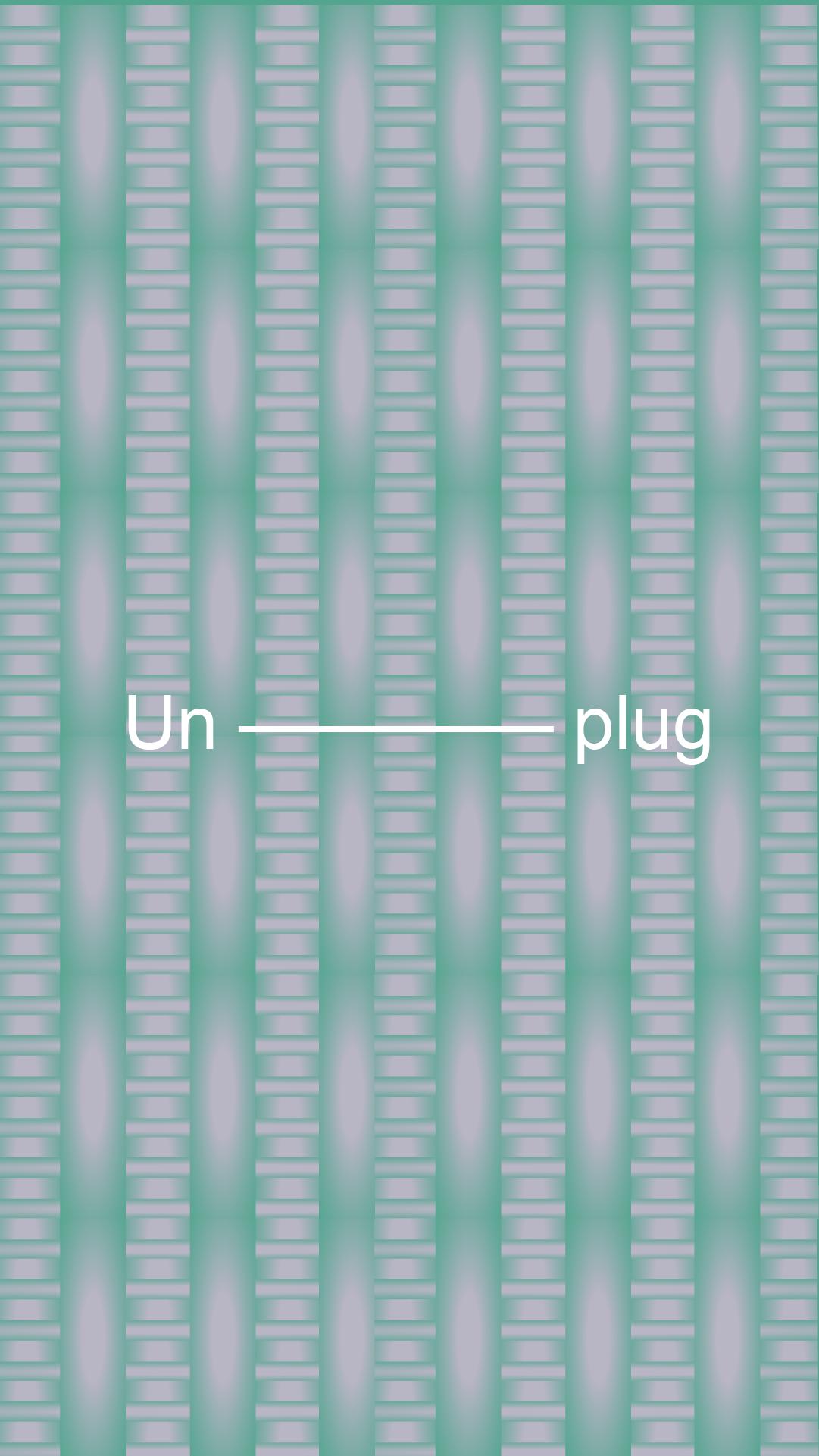 Unplug-front_VEDROS