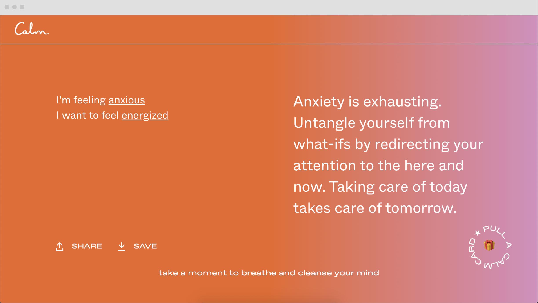 Vedros Studio, Calm, Mental Health, Meryl Vedros